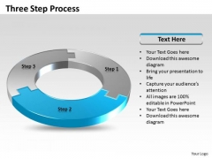 Ppt Three Step Process Editable Business Plan PowerPoint Templates