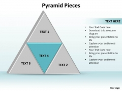 Ppt Triangle Showing Blue And Its Components PowerPoint Templates