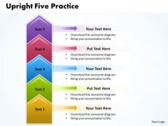 Ppt Upright 5 Practice The PowerPoint Macro Steps Representation Templates