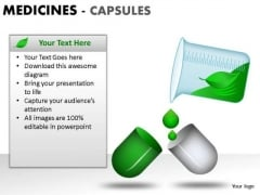 Preparation Medical Capsules PowerPoint Slides And Ppt Diagram Templates