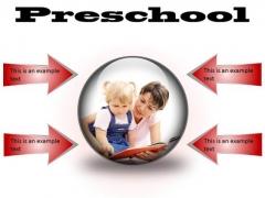 Preschool Education PowerPoint Presentation Slides C