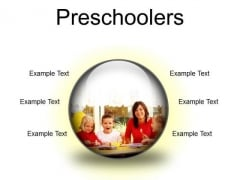 Preschoolers Children PowerPoint Presentation Slides C