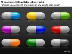 Prescription Drugs Editable Graphics Slides Download
