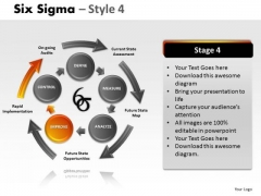 Present Six Sigma 4 PowerPoint Slides And Ppt Diagram Templates