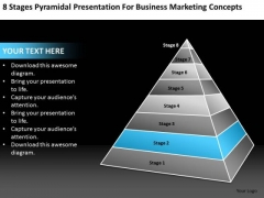 Presentation For Business Sales Concepts Ppt Plan PowerPoint Templates