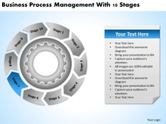 Presentations Process Management With 10 Stages Business Plan PowerPoint Templates