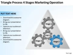 Process 4 Stages Marketing Operation Ppt Business Plan Examples PowerPoint Templates