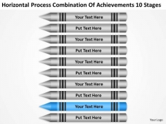 Process Combination Of Acheivements 10 Stages Ppt Business Plan Sample Pdf PowerPoint Templates
