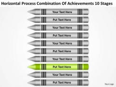 Process Combination Of Acheivements 10 Stages Ppt Samples Business Plans PowerPoint Templates