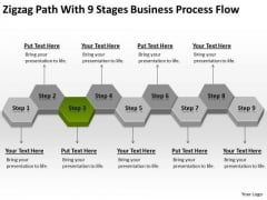 Process Flow Ppt 3 Non Emergency Medical Transportation Business Plan PowerPoint Templates