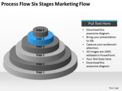 Process Flow Six Stages Marketing Ppt Business Continuity Plan Sample PowerPoint Templates