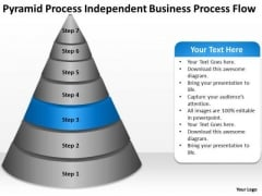 Process Independent Business Flow Ppt Plan Writers PowerPoint Slides