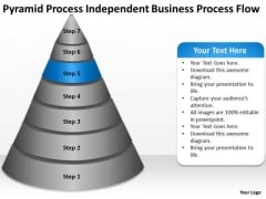 Process Independent Business Flow Ppt Strategic Planning PowerPoint Templates