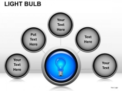 Process Light Bulb PowerPoint Slides And Ppt Diagram Templates