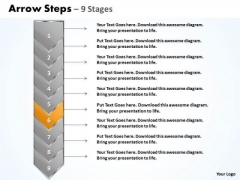 Process Ppt Arrow 9 Phase Diagram Project Management PowerPoint 7 Image