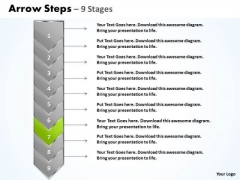 Process Ppt Arrow 9 Phase Diagram Project Management PowerPoint 8 Image
