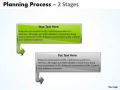 Process Ppt Background Planning Of 2 Stages Time Management PowerPoint Design