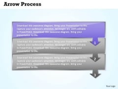 Process Ppt Theme Arrow Procurement Representation 3 Stages 2 Design