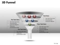 Professionally Created Funnel Diagram PowerPoint Slides
