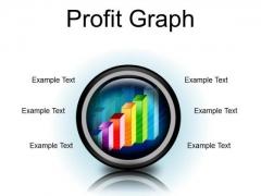 Profit Graph Business PowerPoint Presentation Slides Cc