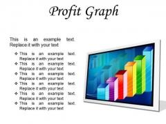 Profit Graph Business PowerPoint Presentation Slides F