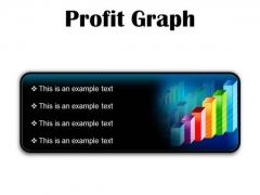 Profit Graph Business PowerPoint Presentation Slides R