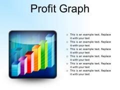 Profit Graph Business PowerPoint Presentation Slides S