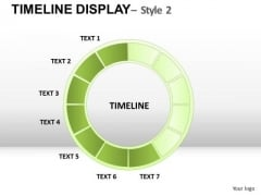Progress Timeline Display PowerPoint Slides And Ppt Diagram Templates