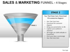 Project Sales And Marketing Funnel PowerPoint Slides And Ppt Diagram Templates