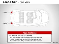 Prototype Red Beetle Car PowerPoint Slides And Ppt Diagram Templates
