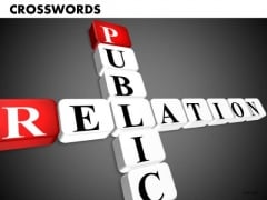 Public Relations Crosswords PowerPoint Templates