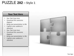 Puzzle 2x2 PowerPoint Images