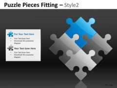 Puzzle Diamond Formation PowerPoint Slides And Editable Ppt Templates