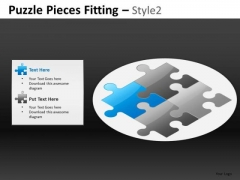 Puzzle Pieces Fitting Style 2 Ppt 10
