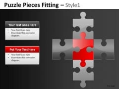 Puzzles Addition Sign PowerPoint Templates Math Puzzle PowerPoint Slides