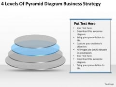 Pyramid Diagram Company Business Strategy Ppt Plan PowerPoint Slides
