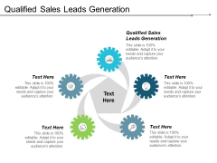 Qualified Sales Leads Generation Ppt Powerpoint Presentation Outline Themes Cpb