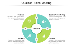 Qualified Sales Meeting Ppt PowerPoint Presentation Slides Clipart Cpb