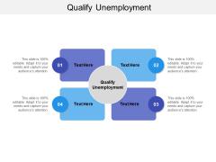 Qualify Unemployment Ppt PowerPoint Presentation Ideas Icon Cpb