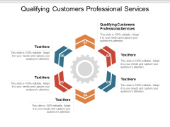Qualifying Customers Professional Services Ppt PowerPoint Presentation Infographic Template Themes Cpb