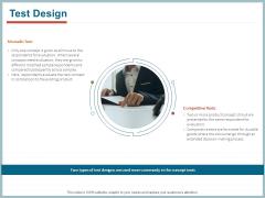 Qualitative Concept Testing Test Design Ppt PowerPoint Presentation Inspiration Graphics Download PDF