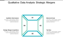 Qualitative Data Analysis Strategic Mergers Acquisitions Behavioural Goals Ppt PowerPoint Presentation Ideas Guidelines
