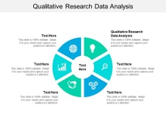 Qualitative Research Data Analysis Ppt PowerPoint Presentation Infographics Show Cpb