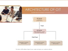 Quality Analysis Of Github Projects Architecture Of Git Ppt Infographics Designs Download PDF