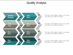 Quality Analysis Ppt PowerPoint Presentation Icon Summary