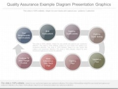 Quality Assurance Example Diagram Presentation Graphics