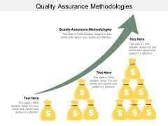 Quality Assurance Methodologies Ppt PowerPoint Presentation File Diagrams Cpb