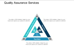 Quality Assurance Services Ppt Powerpoint Presentation Inspiration Master Slide Cpb