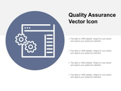 Quality Assurance Vector Icon Ppt PowerPoint Presentation Styles Example File