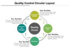 Quality Control Circular Layout Ppt PowerPoint Presentation Infographic Template Elements PDF